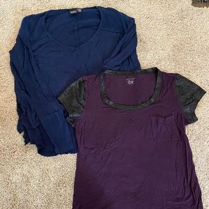 Set of 2 Large Tops Sweaters